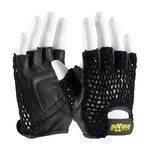 PIP Maximum Safety 122-AV14 Black Large Goatskin Leather Lifting Gloves - 6.2 in Length - 122-AV14/L