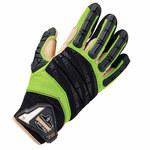 Ergodyne ProFlex 924LTR Lime Large Leather Mechanic's Gloves - 17794