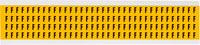 Brady 15 Series 1500-F Black on Yellow Vinyl Letter Label - Indoor / Outdoor - 1/4 in Width - 3/8 in Height - 1/4 in Character Height - B-946