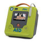 Zoll AED 3 Semi-Automatic AED - 9.3 in Width - 9.7 in Length - 5 in Height - 8511-001101-01