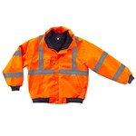 Ergodyne Glowear 8380 High-Visibility Orange Large Polyester (Shell)/Polyurethane (Coating) Work Jacket - Fits 38 to 42 in Chest - 720476-24484
