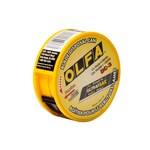 OLFA UltraMax 50 Blades 50 Blades Yellow / Black Blade Disposal Can - 60066