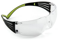 3M SecureFit 400 SF401AF Polycarbonate Standard Safety Glasses Clear Lens - Wrap Around Frame - 078371-66211