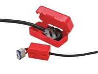 Honeywell E-Safe 110 V Red Electrical Plug Lockout - 3.25 in Width - HONEYWELL LP110