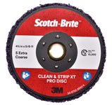 3M Scotch-Brite Clean & Strip XT Pro Disc - Silicon Carbide - 4 1/2 in Diameter - TN Quick Change