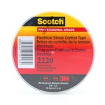 3M Scotch 2220 Gray Conductive Tape - 3/4 in Width x 5 ft Length - 0.76 mm Thick - Electrically Conductive - 50426