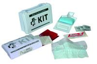 North Swift Body Fluid Cleanup Kit - Plastic Box - 55-3001