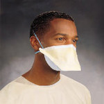 Kimberly-Clark Filtermask Green Universal Pouch Surgical Mask - 036000-37525