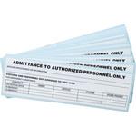 Brady LH632E Access & Security Label - 45183