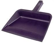 Weiler Vortec Pro 710 Plastic Dust Pan - Plastic Handle - 12 1/4 in Width - 12 in Deep - 71077