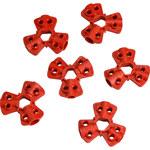 Brady Red Fiberglass Reinforced Nylon Pneumatic Lockout Device 65645 - 0.83 in Width - 754476-65645