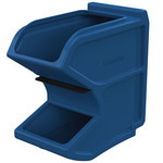 Akro-Mils 6 gal 50 lb Blue Small Easy Flow Gravity Hopper - 16 in Overall Length - 8 1/4 in Width - 16 in Height - 31620BLUE