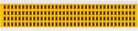 Brady 15 Series 1500-H Black on Yellow Vinyl Letter Label - Indoor / Outdoor - 1/4 in Width - 3/8 in Height - 1/4 in Character Height - B-946
