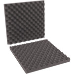 Shipping Supply Charcoal Foam Sheets - 16 in x 16 in x 2 in - SHP-11969