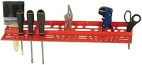 Quantum Storage 96 items Red Polypropylene Tool Rack - 24 in Overall Length - 2 3-4 in Height - 04597