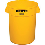 Shipping Supply Brute Yellow Trash Can - SHP-13996