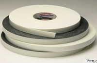 3M Venture Tape VG708 Black Double Sided Foam Tape - 1/2 in Width x 85 ft Length - 1/8 in Thick - 96597