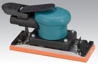 "Dynabrade 58507 2-3/4"" (70 mm) W x 7"" (178 mm) L Dynabug II Orbital Sander, Non-Vacuum with Clips"