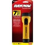 Rayovac Industrial Flashlight - 7 Foot Drop Tested - 15 Lumens - (2) D - IMIN2C