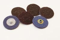 Standard Abrasives Non-Woven A/O Aluminum Oxide AO Quick Change Surface Conditioning Disc - Medium - 2 in Diameter - 848332