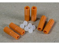 Justrite ETFE Compression Fitting Kit - 25 mm Length - 2.5 mm OD - 697841-15298