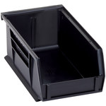 Black Conductive Bin - 7 3/8 in x 4 1/8 in x 3 in - SHP-3033