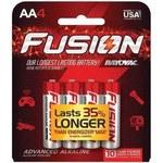 Rayovac Fusion 815 Standard Battery - Single Use Alkaline AA - 815-4TFUSJ