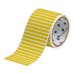 Brady THT-17-8591-3-YL Yellow Polyester Die-Cut Thermal Transfer Printer Label Roll - 2 in Width - 1 in Height - B-8591