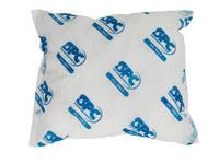 Brady White Polypropylene 14 gal Absorbent Pillow 110281 - 18 in Width - 18 in Length - 662706-83168