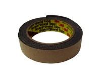 3M 4314 Gray Single Sided Foam Tape - 1 in Width x 18 yd Length - 1/4 in Thick - 06443