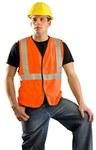 Occunomix Orange 4XL Modacrylic Solid High-Visibility Vest - 1 Pockets - 021844-60644