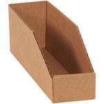 Shipping Supply Kraft Corrugated Bins - 12 in x 3 in x 4 1/2 in - SHP-12437