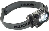 Pelican 2760 Black Headlamp - 204 Lumens White - (3) AAA 4 Modes - 11758