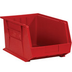 Red Hang Bin Boxes - 5.375 in x 4.125 in x 3 in - SHP-2914