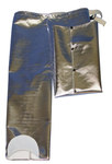 Chicago Protective Apparel Large Aluminized Rayon Attached Hip Fire Resistant Chaps - HL777-ARH LG