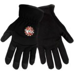 Global Glove Hot Rod HR3200 Black Large Synthetic Leather Work Gloves - HR3200/LG