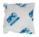 Brady White Polypropylene 14 gal Absorbent Pillow 107747 - 9 in Width - 9 in Length - 662706-18202