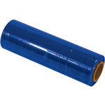 Blue Colored Hand Stretch Film - 1500 ft x 18 in - 80 Gauge Thick - SHP-7073