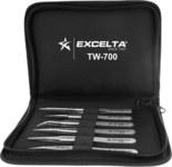 Excelta Two Star Tweezer Kit - Stainless Steel Tip