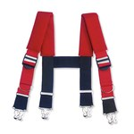 Ergodyne Arsenal GB5092 Red Nylon/Polyester Suspenders - 720476-13342
