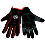 Global Glove Hot Rod HR8500 Black/Orange Large Synthetic Leather Work Gloves - HR8500/LG