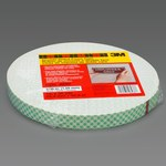 3M 4026 Off-White Double Coated Foam Tape - 1 in Width x 36 yd Length - 1/16 in Thick - 17057