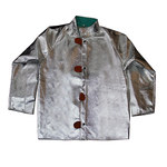 Chicago Protective Apparel Large Aluminized Carbon Kevlar Heat-Resistant Jacket - 30 in Length - 600-ACK LG