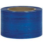 Blue Colored Stretch Film - 1000 ft x 3 in - 80 Gauge Thick - SHP-7148