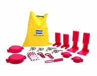 North Yellow Nylon Lockout/Tagout Kit - HONEYWELL LK109FE