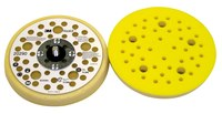 3M Hookit 20290 Soft Yellow Disc Pad - 5 in DIA - 11/16 in Thick - 5/16 - 24 External Thread Attachment