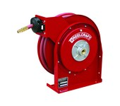 Reelcraft Industries 4000 Series Hose Reel - 20 ft Hose Included - Spring Drive - 4420 OLP