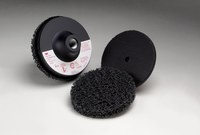 3M Scotch-Brite 914CS Non-Woven Sanding Disc Set - Very Coarse Grade(s) Included - 4 in Diameter Included - 18428