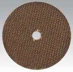 Dynabrade Aluminum Oxide Cutoff Wheel - Type 1 (Straight) - 3 in Diameter - 3/8 in Center Hole - 79357