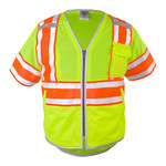 ML Kishigo 1573 Lime 100% polyester mesh High Visibility Shirt - T-Shirt - MLK 1573 LG